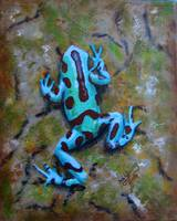 Green and Black Poison DartFrog