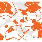 """Origami : Retro Modern Abstract"" by billoneil"