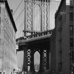 """MANHATTAN BRIDGE (ESB FRAMED)"" by PHOTOREBEL"