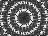 Gray Kaleidoscope Art 14