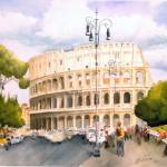 """Romanholiday2Coloseo"" by Lwiedemer"