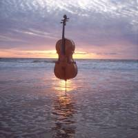 Cello World Without End Art Prints & Posters by Michael Fitzpatrick