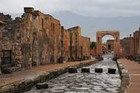 Rainy Day in Pompeii