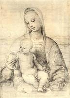 Madonna with Grenade Apple