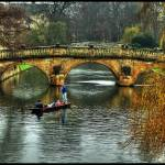"""Clare College Bridge"" by frenchy"