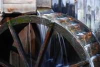 Cable Grist Mill Wheel