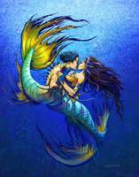 Mermaid  kiss
