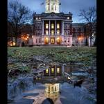 """Columbia Missouri: Jesse Hall"" by notleyhawkins"