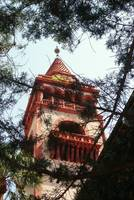 one of the towers of Flagler College