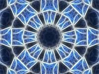 Blue Kaleidoscope 3