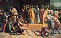 Punishment of Ananias