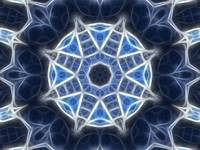 Blue Kaleidoscope 4