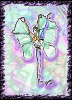 Butterfly Fairy in High Arabesque