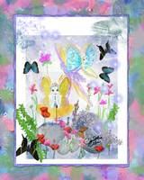 Fairies With Rocks and Butterflies