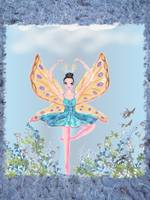 Fairy Ballerna In Blue