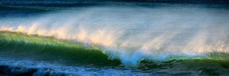 Blue Green Wave
