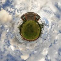 Oklahoma Memorial Stadium Planet