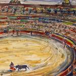 """Corrida - bullfight"" by lamich"