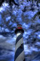 St. Augustine Lighthouse topazed