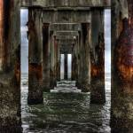 """Under the Pier in St. Augustine"" by puddlemuddle2000"