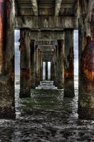 Under the Pier in St. Augustine