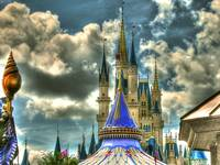 Magical HDR (Cinderella's Castle)