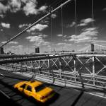 """New York City from Brooklyn Bridge"" by WillPatterson"