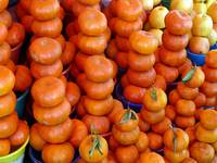 Tangerines in the Market