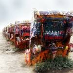 """cadillac ranch route 66"" by studiobrian"