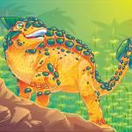 """""""Ankylosaurus"""" by Fany"""