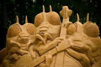 Sand Sculpture - West Point on the Eno