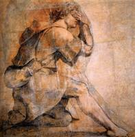 Study for Moses in front of the Burning Bush