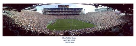 Blue White Game 2009