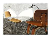 Mid Century Modern Eames Chairs