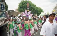 Kid's group scene, carnival, celebration's, colour