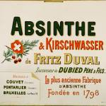 """Absinthe Duval Advertising Carton"" by oxygenee"