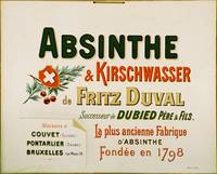 Absinthe Duval Advertising Carton
