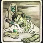 """Absinthe is Death by Emile Decoeur"" by oxygenee"