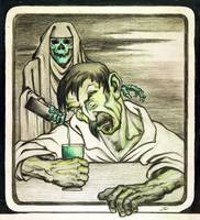 Absinthe is Death by Emile Decoeur