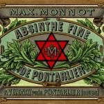 """Absinthe Monnot Label - Masonic Distiller"" by oxygenee"