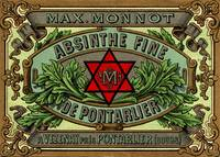 Absinthe Monnot Label - Masonic Distiller