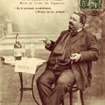 """Absinthe Oxygenee Cusenier Postcard"" by oxygenee"