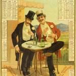 """Absinthe Terminus Calender 1894"" by oxygenee"