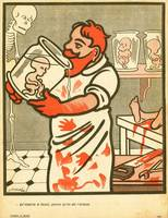 Formaldehyde Drinker in L'Assiette au Beurre 1907