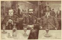 Absinthe Professors by Renouard