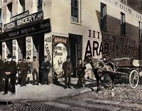 Hills Bros 2nd Store and fazctory on Sacramento St by WorldWide Archive