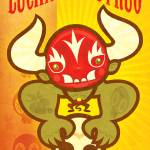"""Lucha Monstruo Print"" by SteamCrow"