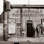 """Heinolds Saloon, Oakland, California"" by worldwidearchive"