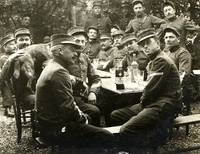 Soldiers with Pernod