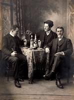 Three Absinthe Drinkers 1200dpi